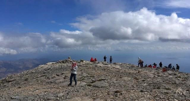 Ανάβαση στη κορυφή Τσίβη της Δίκτης