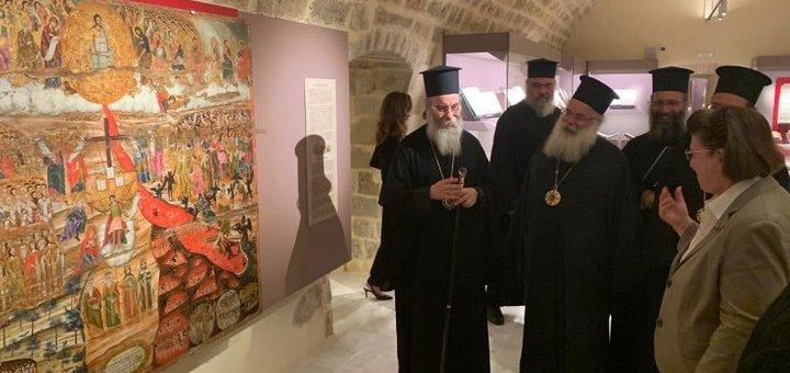 Εκκλησία της Κρήτης συνάντηση με Λίνα Μενδώνη