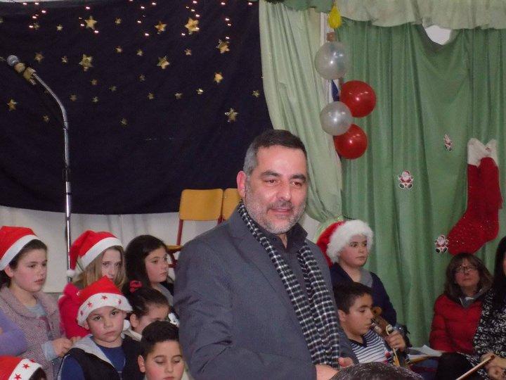 ο δήμαρχος Γιάννης Στεφανάκης