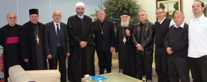 εκπρόσωποι διάφορων θρησκειών του πλανήτη