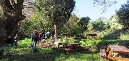 Το σχολείο δεύτερης ευκαιρίας Ιεράπετρας στο Γεωπάρκο Σητείας