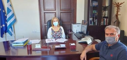 Συνάντηση Συντονίστριας Αποκεντρωμένης Διοίκησης με το Δήμαρχο Ιεράπετρας για τη Χρυσή