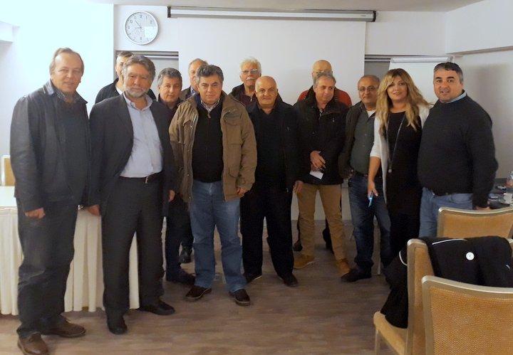 Σύσκεψη της Νομαρχιακής Επιτροπής ΚΙΝΑΛ Λασιθίου