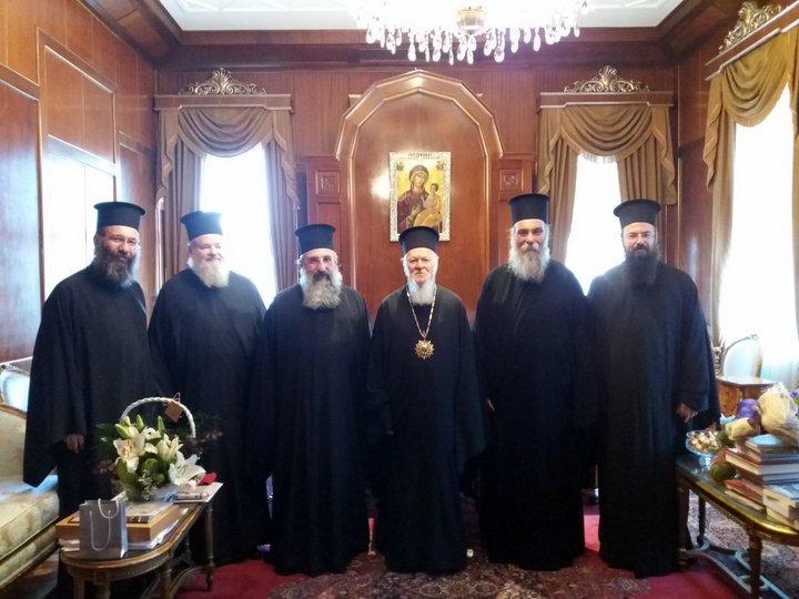 Ονομαστήρια Οικουμενικού Πατριάρχου Βαρθολομαίου
