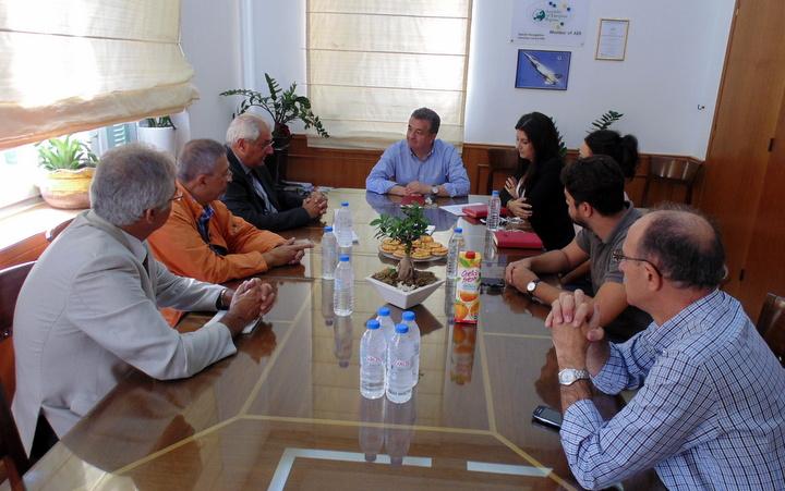 ο Πρόεδρος-Δ/νων Σύμβουλος του Διαχειριστή του Ελληνικού Δικτύου Διανομής Ηλεκτρικής Ενέργειας (ΔΕΔΔΗΕ)  Νίκος Χατζηαργυρίου