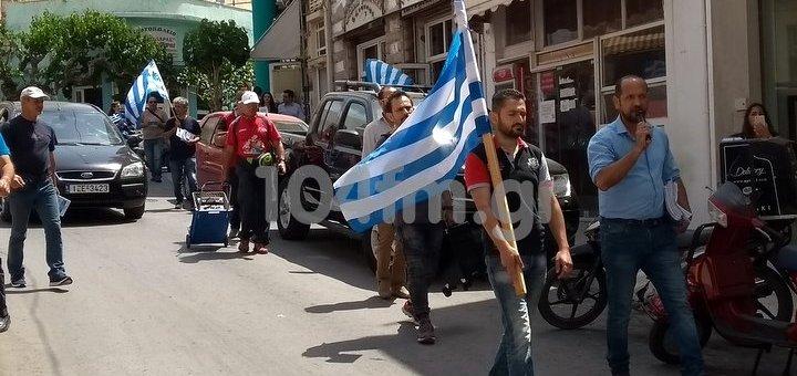 πορεία των Ελλήνων Συνέλευσις στον Άγιο Νικόλαο