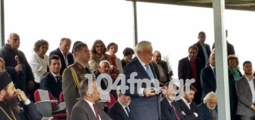 Ο πρόεδρος της Δημοκρατίας στην επέτειο της μάχης του Λασιθίου