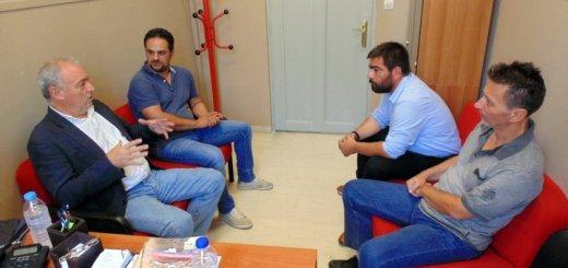 Συνάντηση Λέκκα με Αντιπεριφερειάρχες για πολιτική προστασία