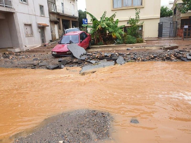 Δήμος Χερσονήσου, παροχή προσωρινής φιλοξενίας, σχολεία κλειστά