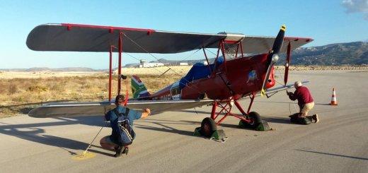 Vintage Air Rally, τα αεροσκάφη στη Σητεία