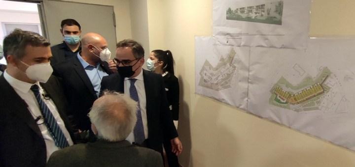 Τμήμα Φυσικής Ιατρικής και Αποκατάστασης Λασιθίου, ενημέρωση αναπληρωτή υπουργού υγείας