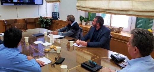 Τα προβλήματα πρωτογενή τομέα της Κρήτης σε τηλεδιάσκεψη Υπουργού - Περιφερειάρχη