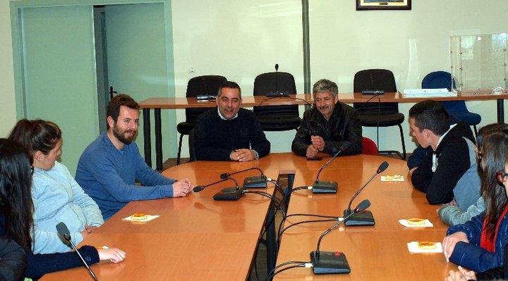 συνάντηση με τον δήμαρχο οροπεδίου Λασιθίου