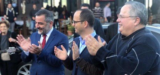Υπουργοί Εξωτερικών Ελλάδας και Αλβανίας στο οροπέδιο