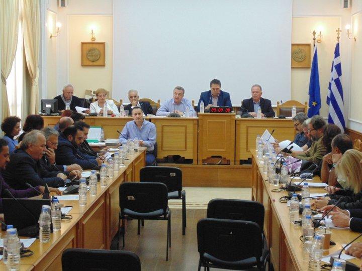 Περιφερειακό Συμβούλιο Κρήτης, συνεδρίαση Τρίτη 27 Φεβρουαρίου 2018