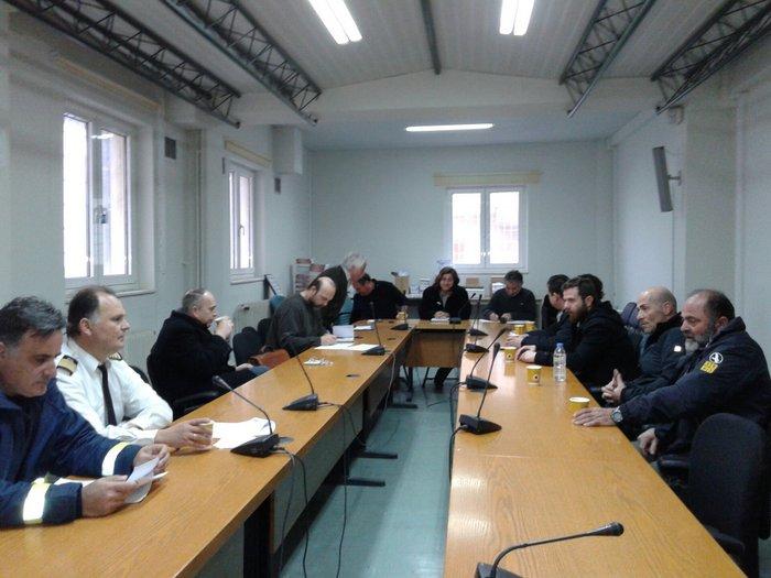 δράσεις Πολιτικής Προστασίας για την αντιμετώπιση των κινδύνων από χιονοπτώσεις στην περιοχή του Δήμου Οροπεδίου Λασιθίου