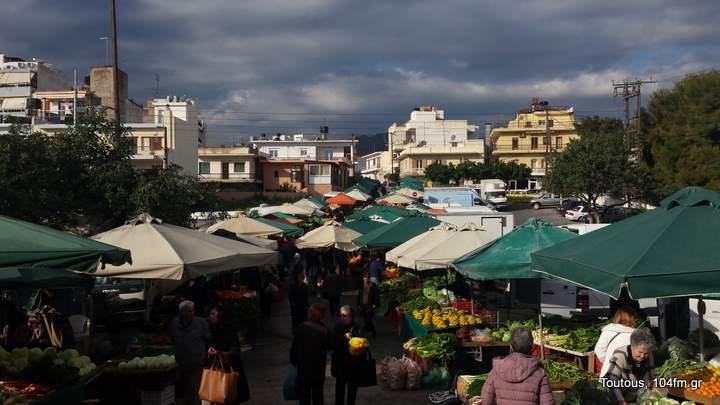 Τη Δευτέρα 13 Αυγούστου η λαϊκή αγορά στον Άγιο Νικόλαο