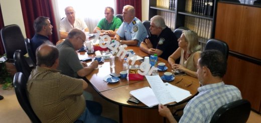 Σύσκεψη για την αγροτική ασφάλεια από τη διεύθυνση δασών Λασιθίου