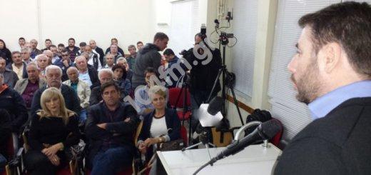 Νίκος Ανδρουλάκης περιοδεία στο νομό Λασιθίου