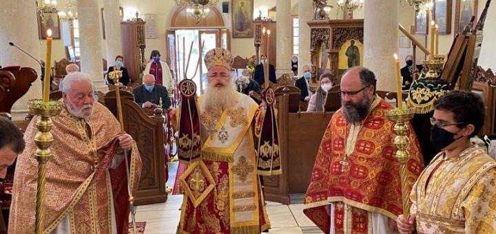 Η εορτή της Ορθοδοξίας στον Ιερό Μητροπολιτικό Ναό Αγίου Γεωργίου Ιεράπετρας