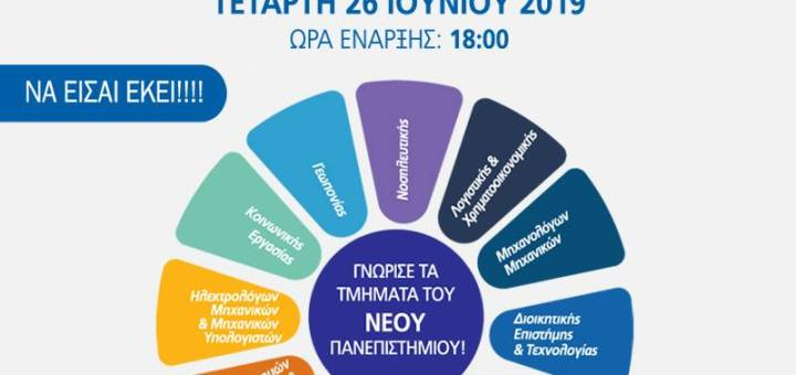 Μια Ανοικτή Ματιά στο Ελληνικό Μεσογειακό Πανεπιστήμιο