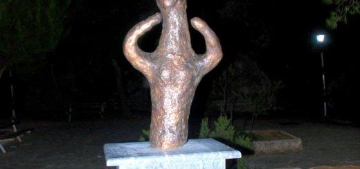 Καλαμαύκα, αποκαλυπτήρια ομοιώματος ειδωλίου αρχαίου λάτρη