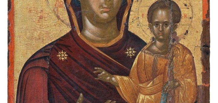 Αθέατη πόλη, μια βυζαντινή εικόνα αφηγείται την ιστορία