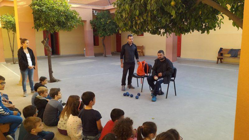 Ο Μιχάλης Λεμονής σύστησε το Μπότσια στους μαθητές