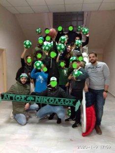 λέσχη φιλάθλων Παναθηναϊκού Αγίου Νικολάου, ραντεβού με την αλληλεγγύη