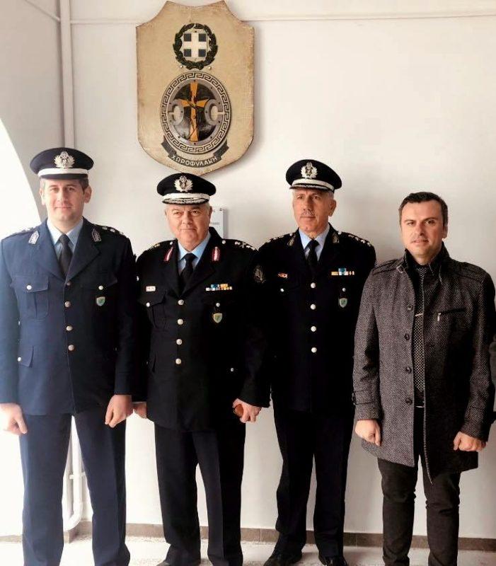 η Ένωση αξιωματικών στα εγκαίνια του Αστυνομικού Σταθμού Μακρύ Γιαλού