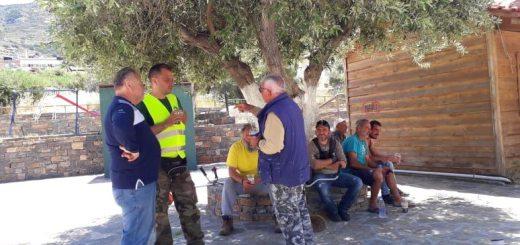 εθελοντικές δράσεις καθαριότητας της πόλης του Αγίου Νικολάου