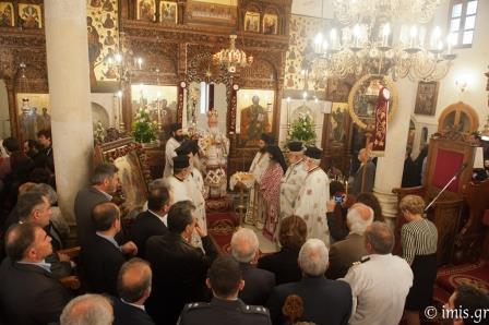 λειτουργία για τον Άγιο Γεώργιο, πολιούχο της Ιεράπετρας