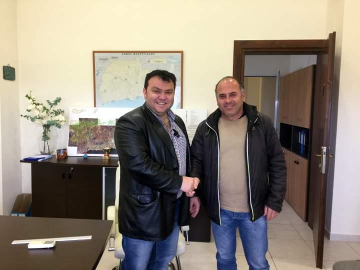 Ανδρέας Παπαδοπεράκης, αποχαιρετιστήριο μήνυμα, ευχαριστίες