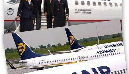 Aegean Lufthansa Rynair