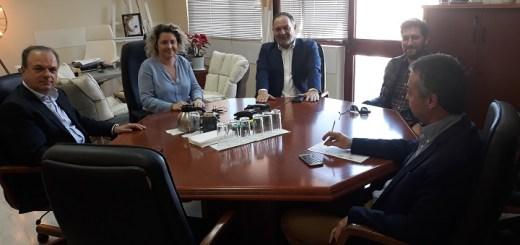 Συνάντηση διοικήτριας 7ης ΥΠΕ με μέλη της Εκτελεστικής Επιτροπής της ΠΕΔ