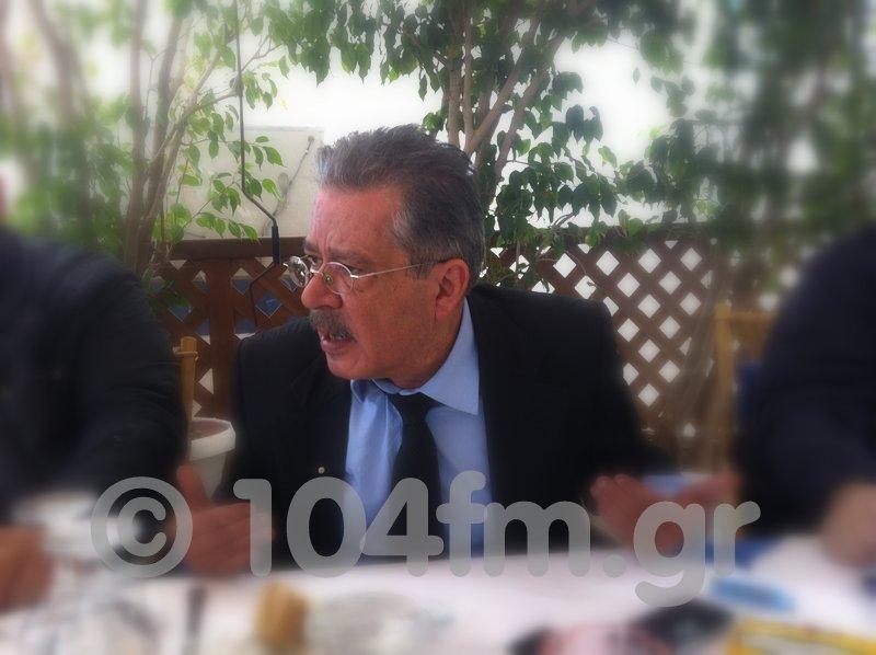 ο πρόεδρος της Κοινωνίας Αξιών, Δημήτρης Μπουραντάς