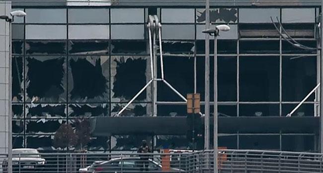 Βρυξέλλες το αεροδρόμιο μετά την έκρηξη