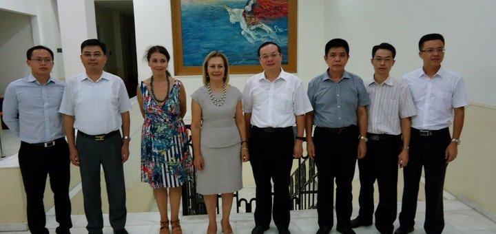 Αντικυβερνήτης της Καντόνα της Κίνας στη Περιφέρεια Κρήτης