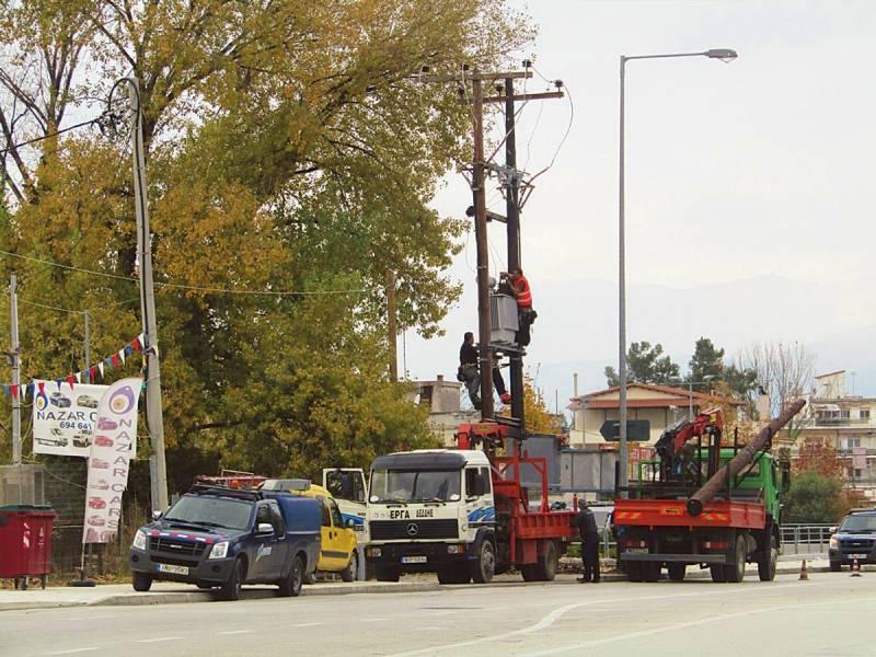 Διακοπή ηλεκτρικού ρεύματος, περιοχή Αμμούδι Αγίου Νικολάου