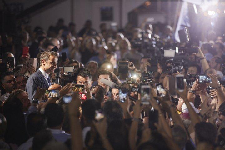 Κυριάκος Μητσοτάκης, μετά το εκλογικό αποτέλεσμα