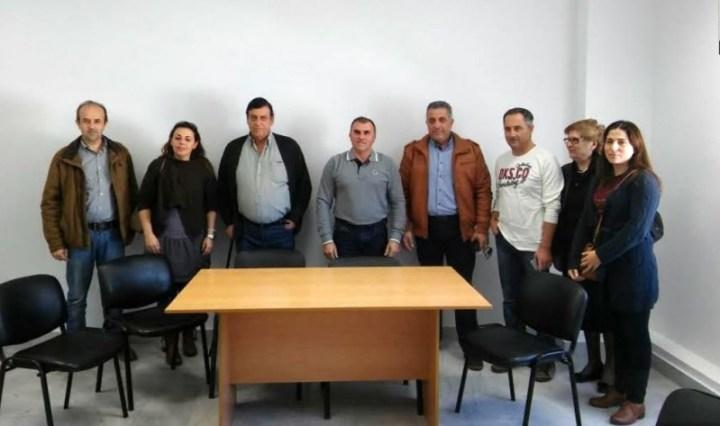 .. το νέο Διοικητικό Συμβούλιο του Συλλόγου Φίλων Ατόμων Τρίτης Ηλικίας του Γηροκομείου Ιεράπετρας