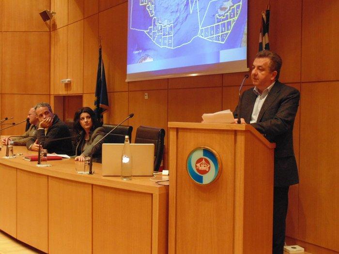 Στρατηγικός ενεργειακός κόμβος η Κρήτη, περιφερειάρχης και ομιλητές