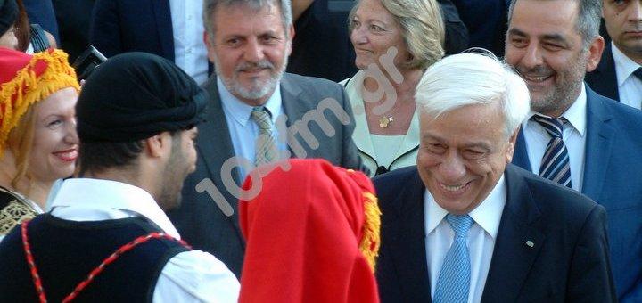 Ο πρόεδρος της Δημοκρατίας στο οροπέδιο Λασιθίου