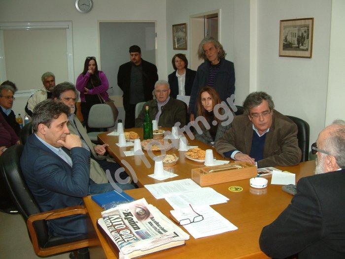ο υπουργός Υγείας Παναγιώτης Κουρουμπλής ακούει διοικητές, εργαζόμενους, γιατρούς και τον δήμαρχο
