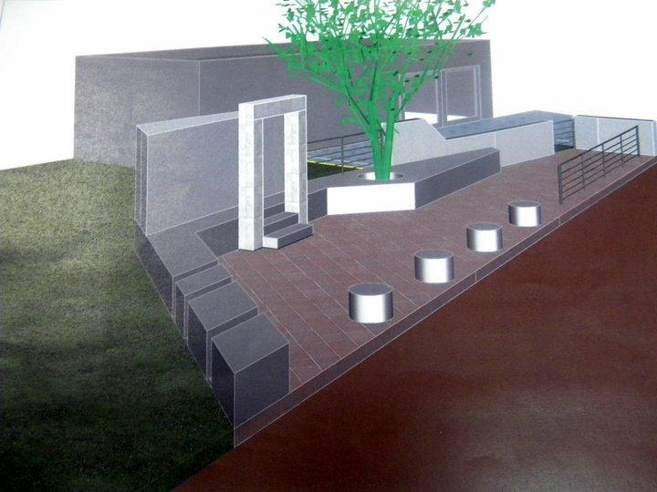 το μνημείο πεσόντων στην Δ.Κ. Βραχασίου