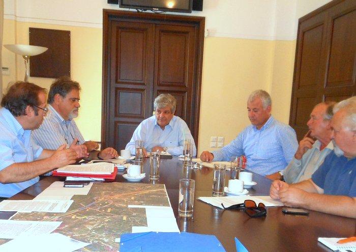 θέματα δήμου Αγίου Νικολάου συζητήθηκαν στη σύσκεψη
