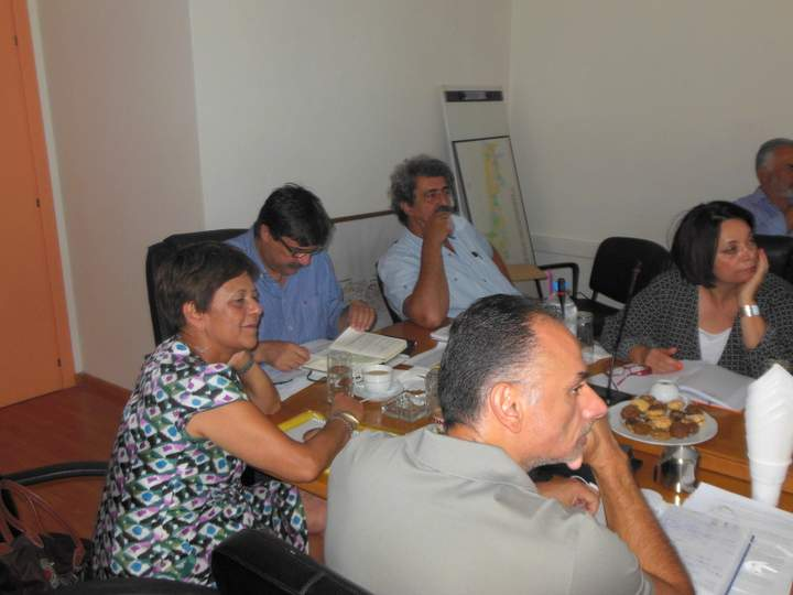 η ηγεσία του υπουργείου Υγείας,  στη Κρήτη