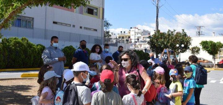 Κυκλοφοριακή Αγωγή για τους μαθητές των Δημοτικών Σχολείων Αγίου Νικολάου