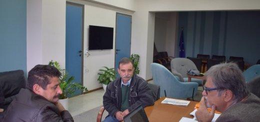 Συνάντηση με τον Περιφερειάρχη για το γήπεδο Βραχασίου