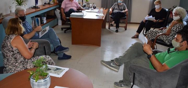 διαθέσιμους χώρους για το Κρητολογικό Συνέδριο στον Άγιο Νικόλαο επισκέφθηκαν τα μέλη της Οργανωτικής Επιτροπής